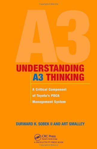 Understanding A3 Thinking, par Durward K. Sobek & Art Smalley