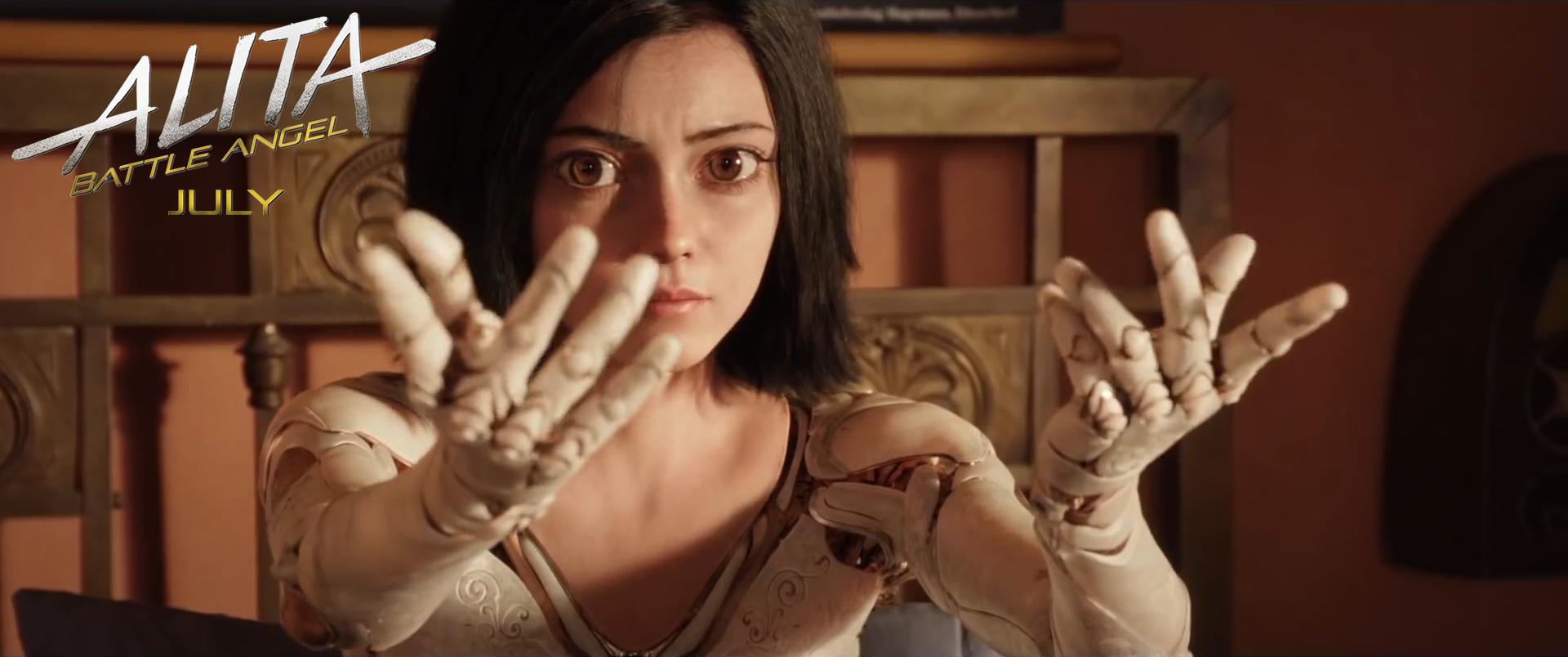 171210 - 雙導演「詹姆斯·卡麥隆×勞勃·羅里葛茲」合作『銃夢』真人電影版《艾莉塔:戰鬥天使》公開第一支預告片!