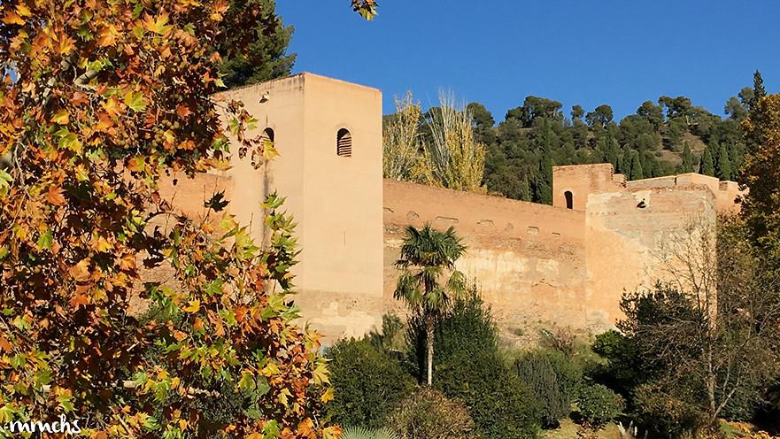 Vistas del hotel Washington Irving de La Alhambra