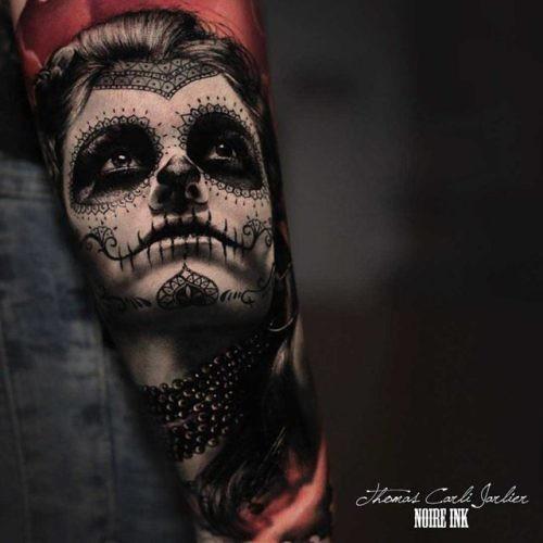 Realistic Santa Muerte Tattoo | Best Tattoo Ideas Gallery | Flickr