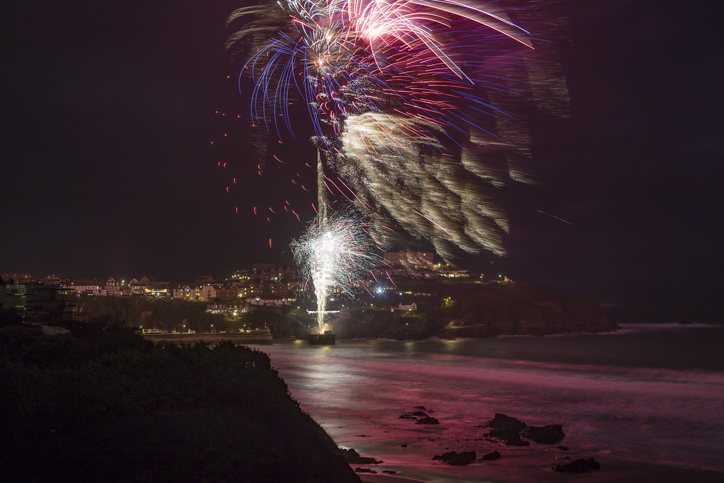 Image result for newquay fireworks