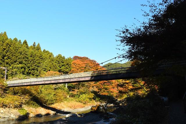 御岳渓谷・橋