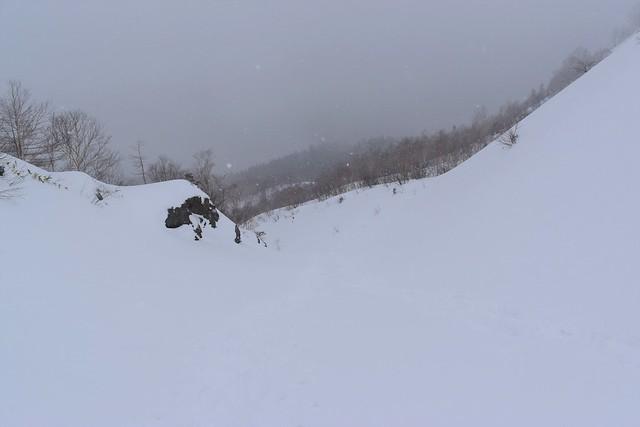 12月の焼岳登山