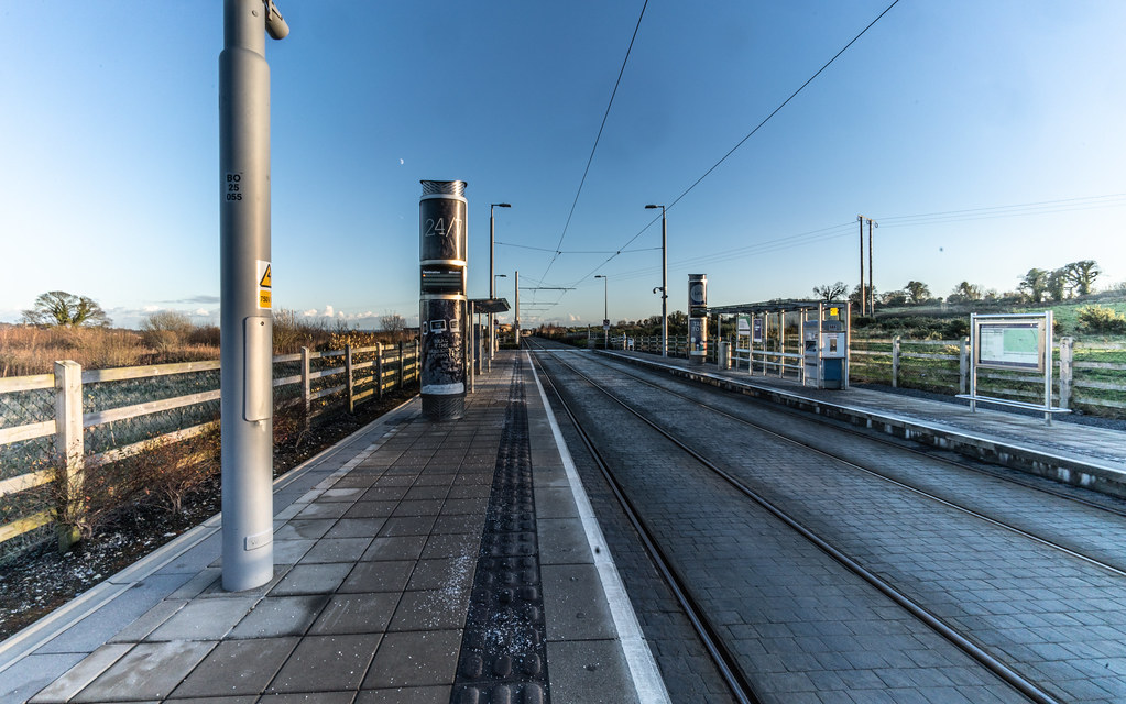 LAUGHANSTOWN TRAN STOP IN DUBLIN 001