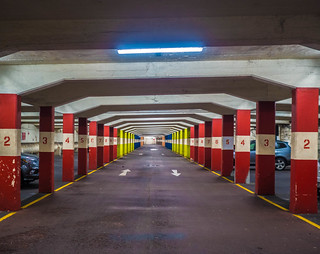 Colourful Car Park | by Alistair-Hamilton