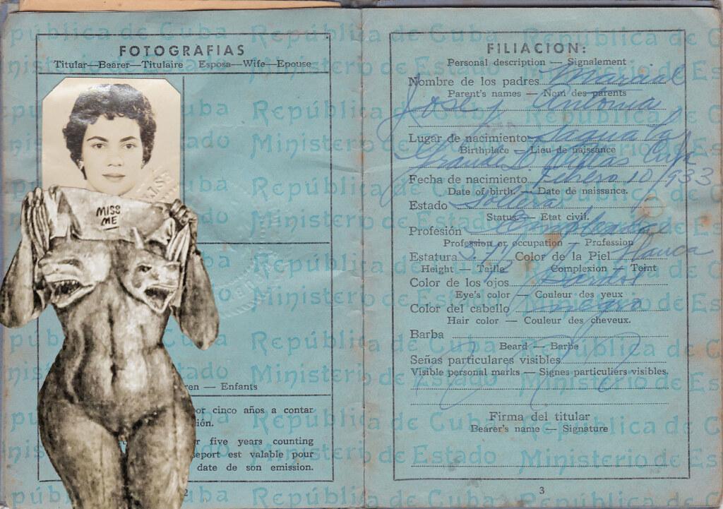 Cuba | passport and havana graffiti | Tom Hart | Flickr