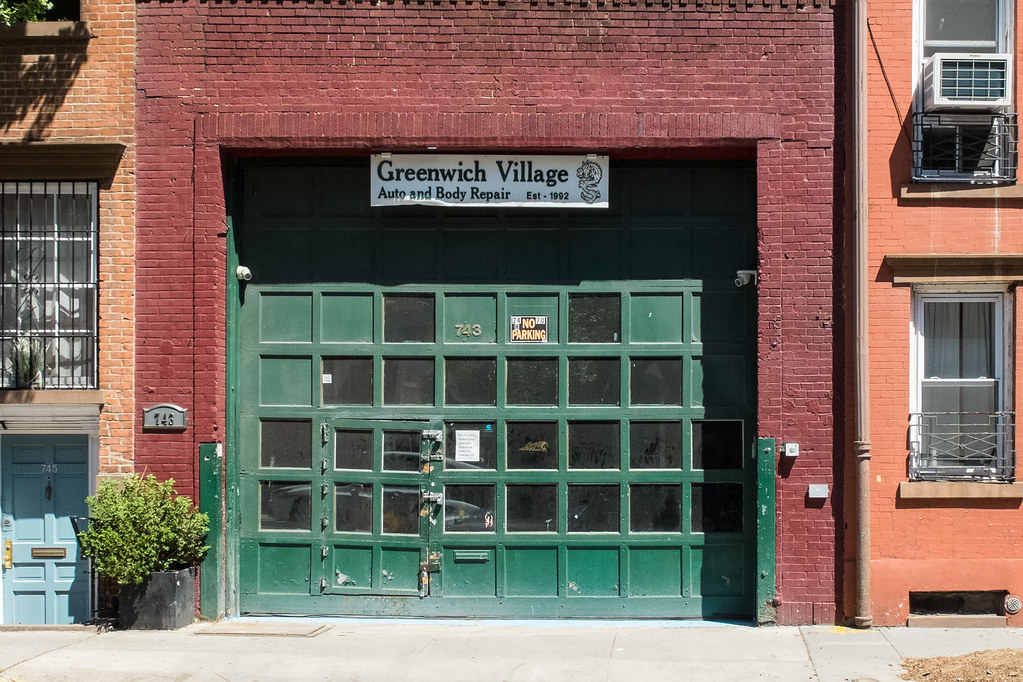 Village Auto Body >> Greenwich Village Auto Body Repair Taken With My Digital