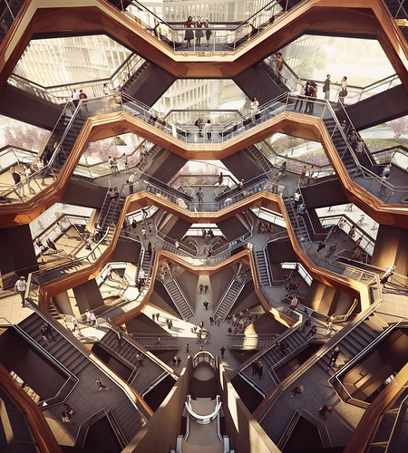 Thomas Heatherwick - HudsonYards Vessel - rendering 07 | by 準建築人手札網站 Forgemind ArchiMedia