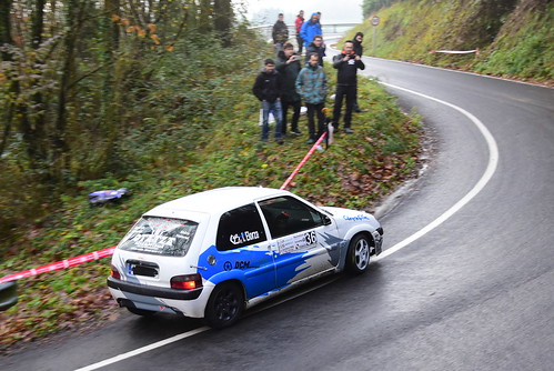 Jon Ander Martínez, Citroën Saxo VTS, IV Subida a Erauskin 2017