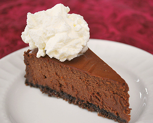 Instant Pot: Double Chocolate Cheesecake