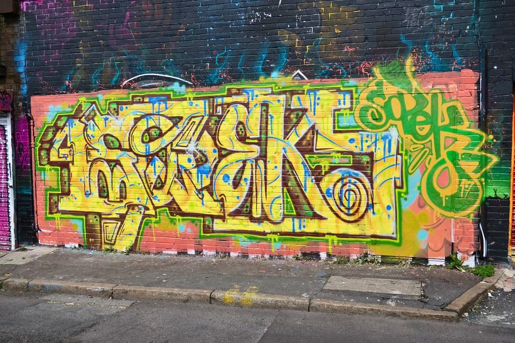 Graffiti Art, Liverpool, UK | Graffiti art on a wall in Live… | Flickr