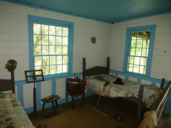 Sleeping room in Mount Locust Historic Site
