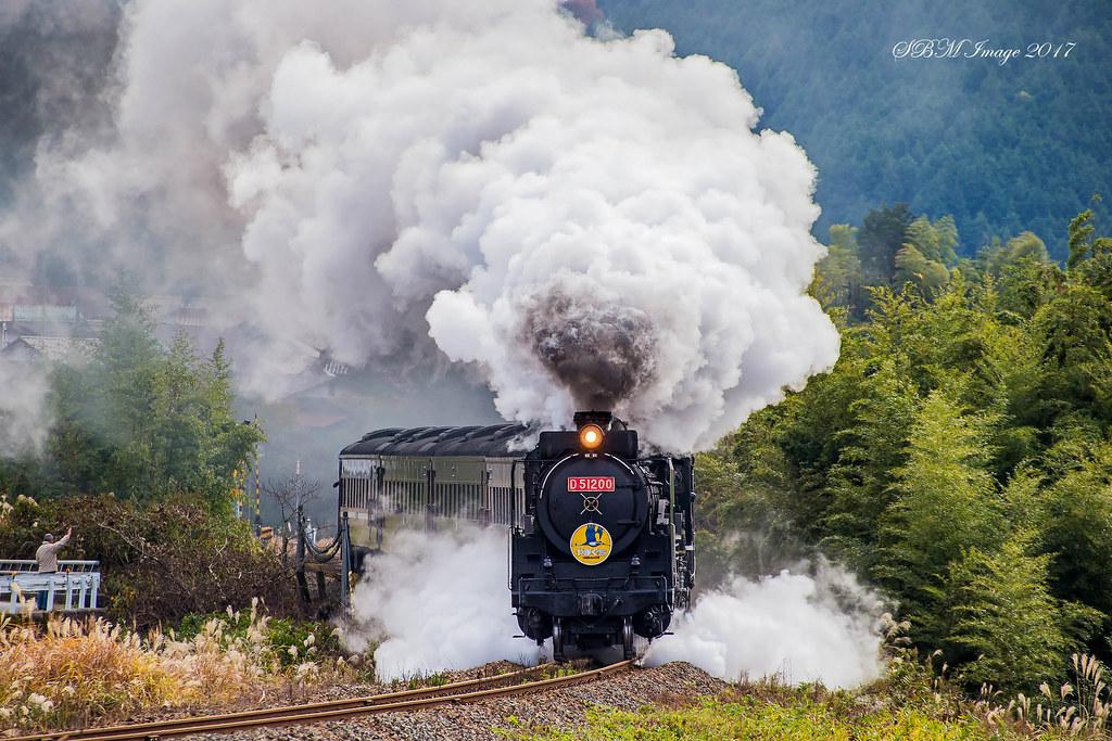 JR 国鉄 D51形蒸気機関車 200号...