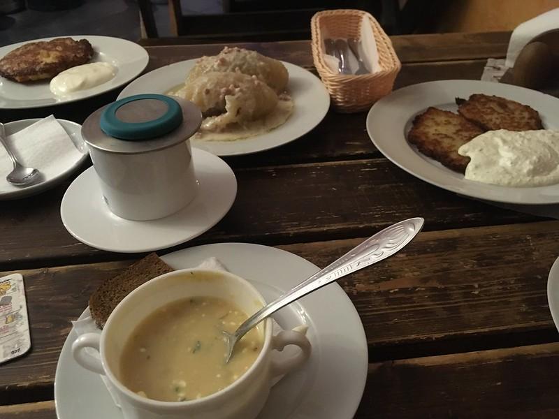 кухня Литвы рестораны Вильнюс