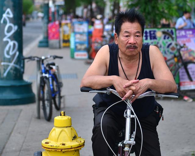 Uno de los muchos chinos del barrio chino de Toronto
