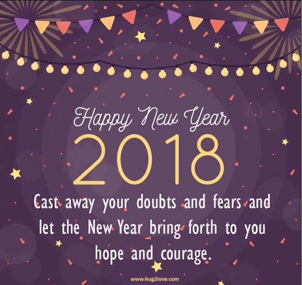 happy new year 2018 quotes best new year 2018 messages short happynewyear