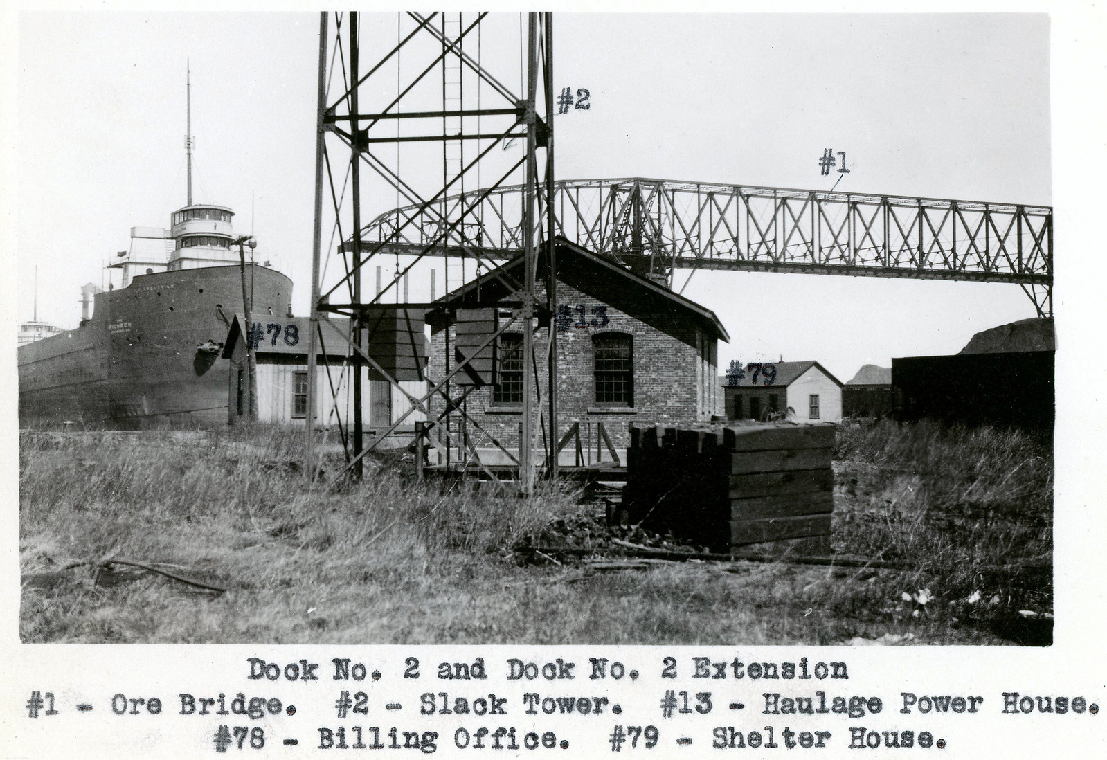 NYCRR Dock No 2 & Dock No 2 Extension Ore Bridge | by Ashtabula Archive