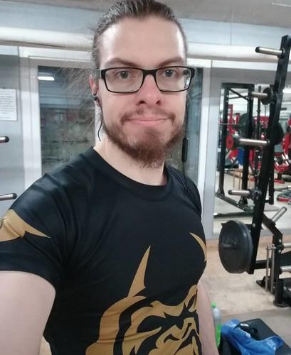 gymrat Last workout of 2017 💪👍...