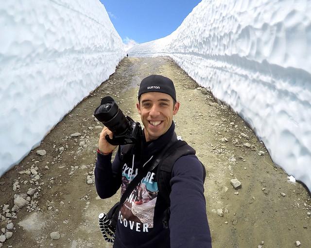 Los túneles de nieve de Whistler en el Peak2peak