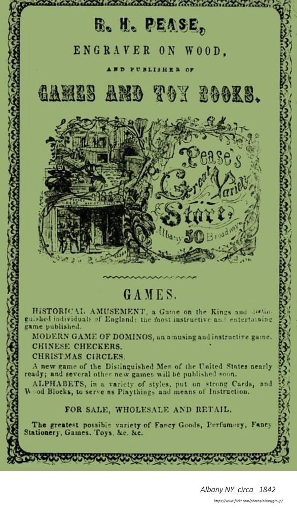 Richard Pease Great Variety Store Circa 1842 Albany Ny Flickr