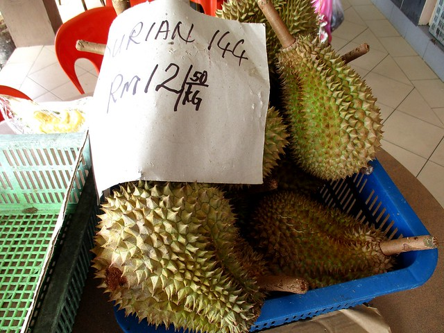 Durians for sale 1