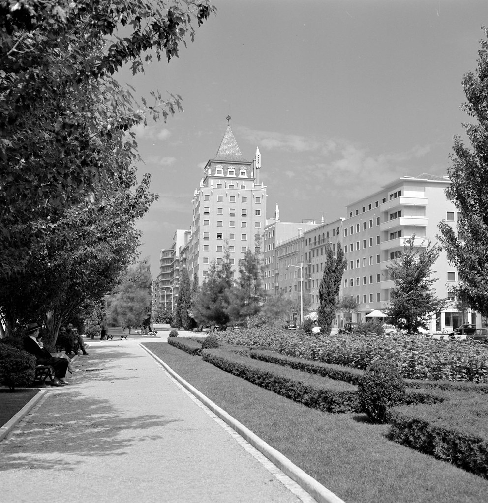 Jardim, Praça de Londres (A.Pastor, 1960-69)