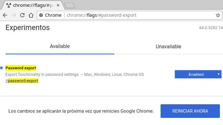 chrome-password-export