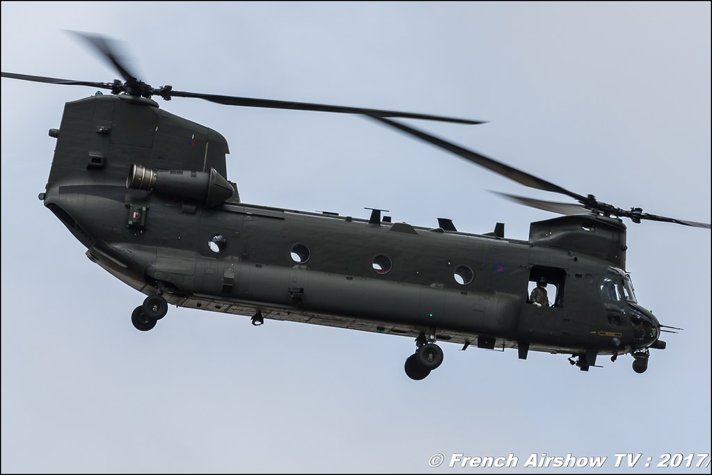 RAF Boeing CH-47 Chinook Display , Royal International Air Tattoo 2017 , Air Tattoo – RIAT 2017 , Fairford , UK Airshow Review 2017 , Meeting Aerien 2017