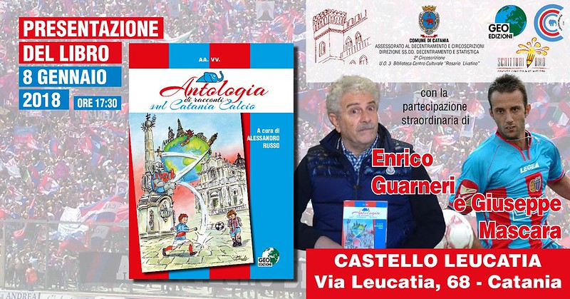La locandina dell'evento curata dalla grafica di Bruno Marchese