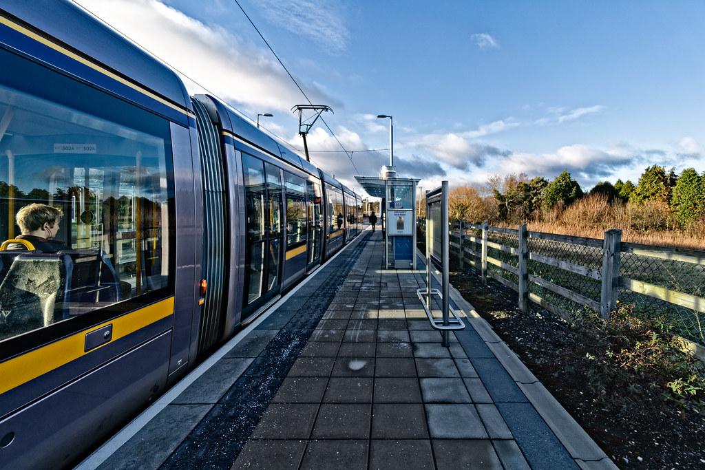 LAUGHANSTOWN TRAN STOP IN DUBLIN 010