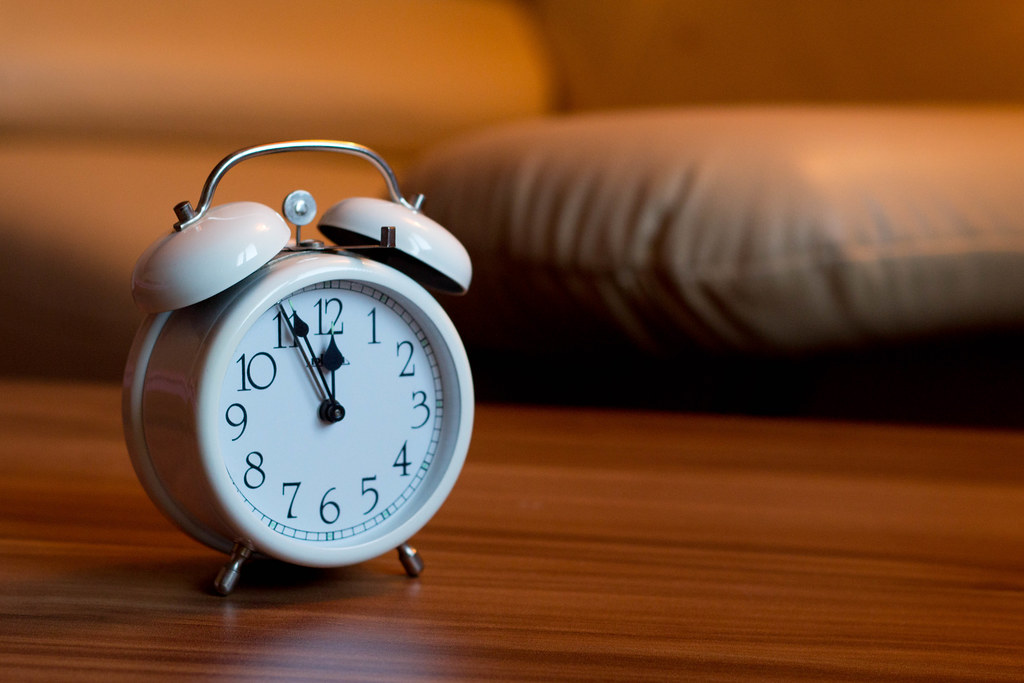 Bon ... Alarm Clock In Bedroom | By Wuestenigel