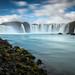 Godafoss / Long Time Exposure - Iceland
