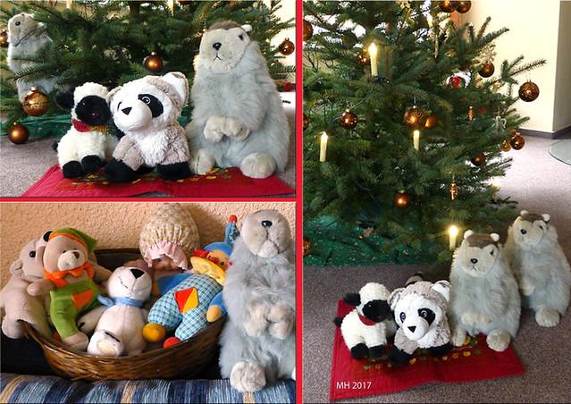 Zwei Karla Kunstwadls in der Pfalz ... Weihnachten 2017 ... Fotos: MH