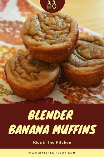 Banana Blender Muffins | by katesrecipebox