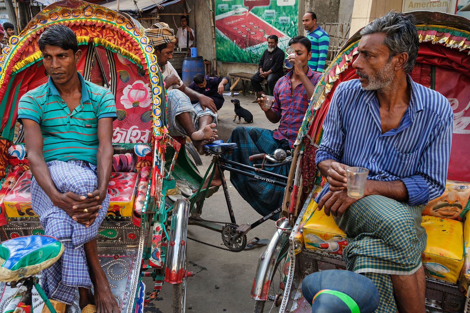 Rickshaws - Dhaka, Bangldesh | by Maciej Dakowicz