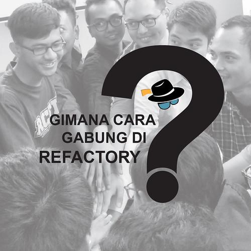 Mudah lho, bergabung dengan Refactory