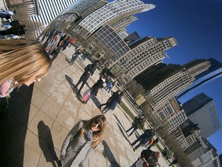 Despina Karamperidou, on Reflections on the Chicago Bean | by Fulbright Brussels