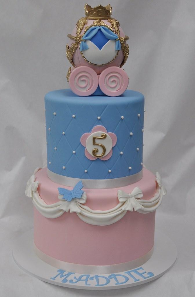 Cinderella Birthday Cake Jenny Wenny Flickr