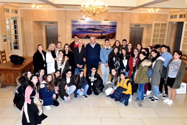 Γιάννενα: Toν Περιφερειάρχη Ηπείρου επισκέφθηκαν οι μαθητές του Λανίτειου Γυμνασίου Λεμεσού