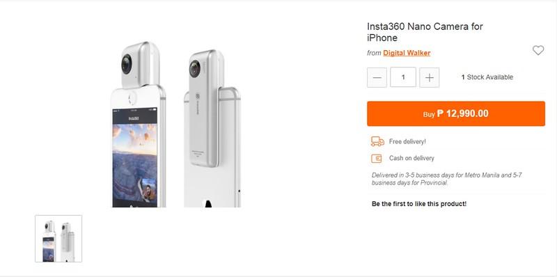 5 Reasons Why Photo Enthusiasts Will Love the Insta360 Nano Camera