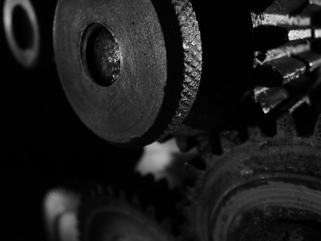 Drummond A Type Lathe Reverse Gear Knurled Nut Flickr Reversing By Brian Teh Snail