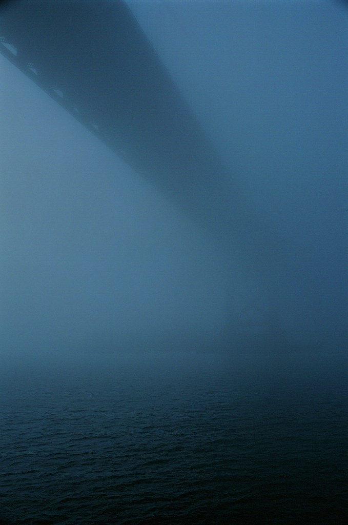 Bay Bridge in the Fog 2 | by Robert Ogilvie