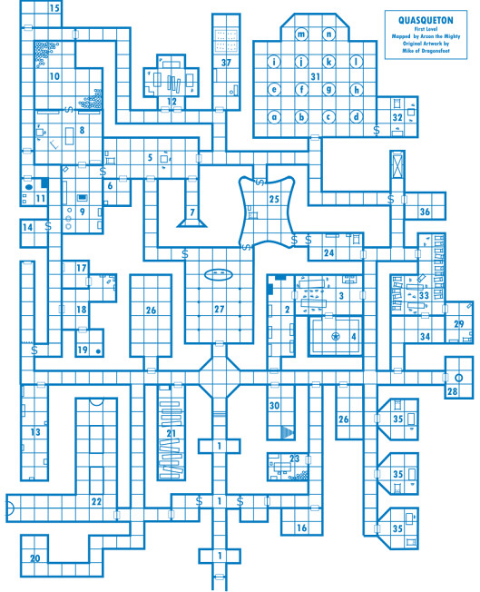Dragonsfoot View Topic Dungeon DesignArchitecture And The Play - Game architecture and design