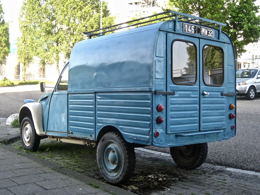 2cv fourgonnette 1978