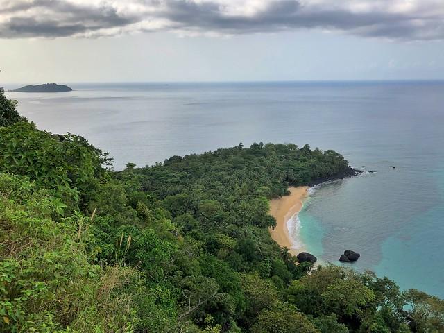 Praia Banana en la isla de Príncipe