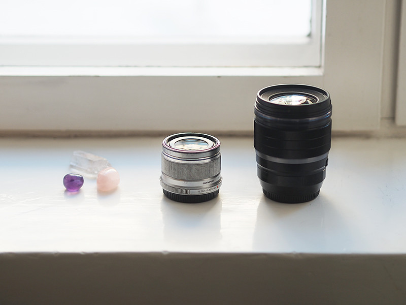 Olympuksen 25mm objektiivit