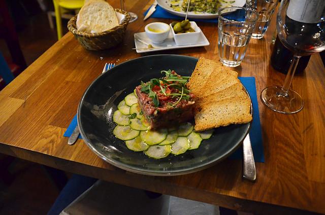 Steak tartare, El Jinete sin Cabeza, La Laguna, Tenerife