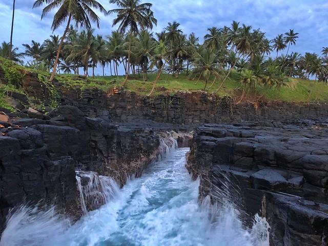 Boca do inferno en Santo Tomé (un imprescindible que ver en Santo Tomé y Príncipe)