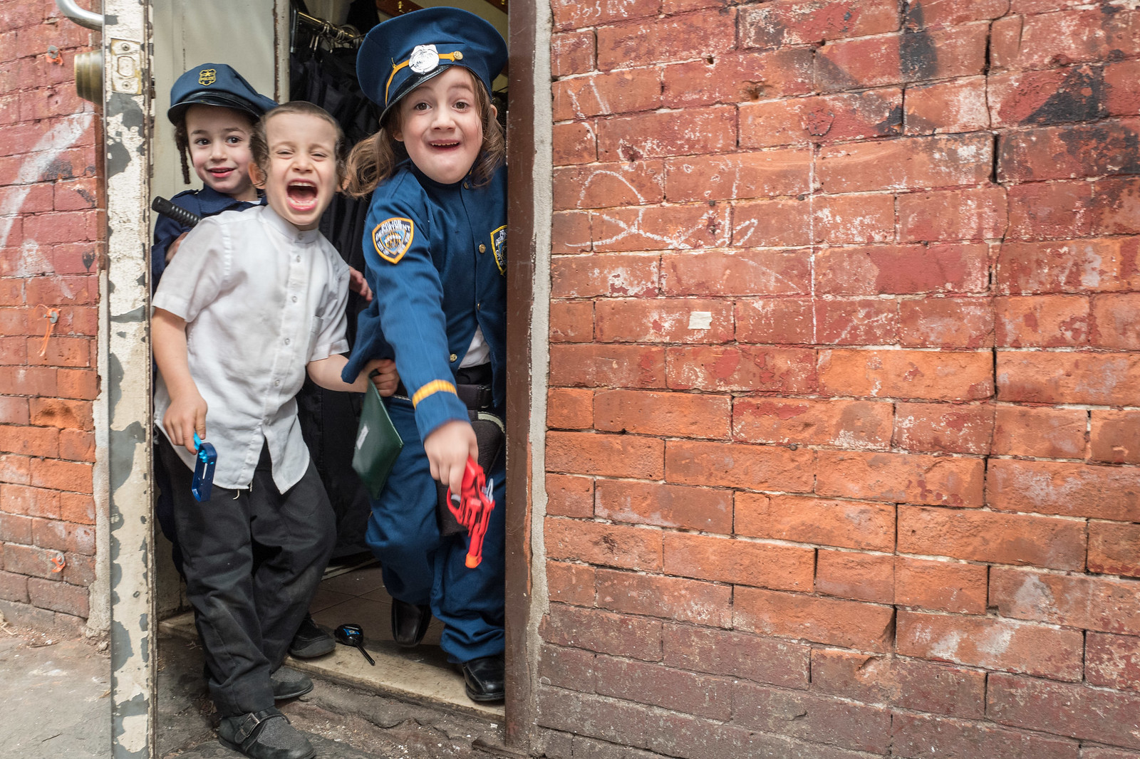 Purim Police | by Gisele Duprez