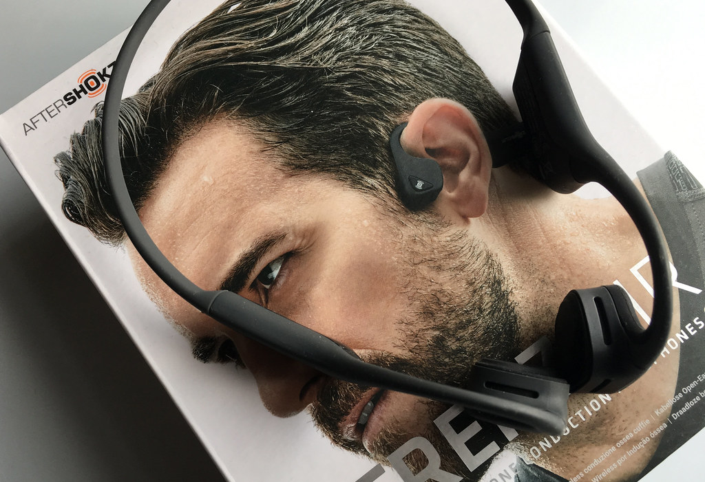 AfterShokz Trekz Air bone-conduction headphones